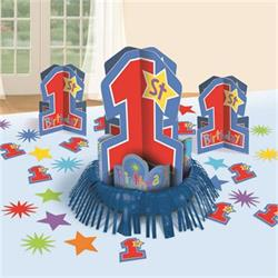 1st Birthday Boy One-derful Table Decorating Kit