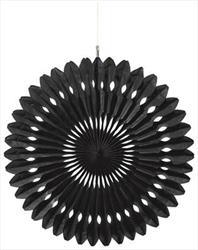 Hanging Fan Decoration 40.5cm Black