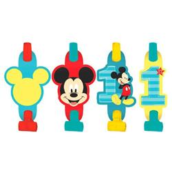 Mickey Fun To Be One Birthday Blowouts Pack 8