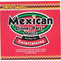 Mexican Party Music CD