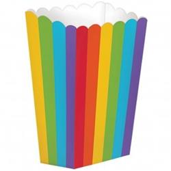 Rainbow Popcorn Small 13.3cm x 9.5cm