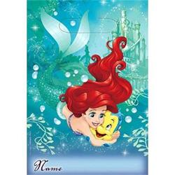 Dream Big Ariel - Little Mermaid Loot Bags Pack of 8.