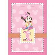 Minnie 1st Birthday loot Bags