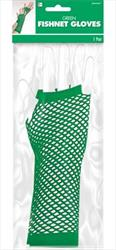 Fishnet Gloves Green