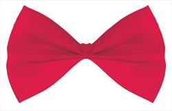 Bow Tie Red 14.5cm in Hang Sell Pack