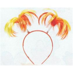 Fiesta Ponytail Head Bopper on headband