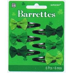 St Patrick Barettes/Hair slides