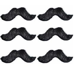 Fiesta Moustaches card of 6