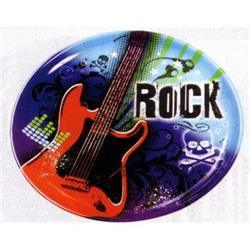 Rock Star Plastic Platter 34cm