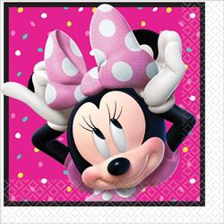 Minnie Mouse Happy Helpers Luncheon Napkins  Pack 16