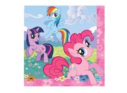 My Little Pony Friendship Napkins Pack 16