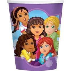 Dora and Friends Cups Pack 8
