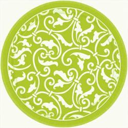 Ornamental Scroll Kiwi 17.7cm Plate