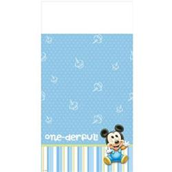 Mickey 1st Birthday Tablecover pack 1