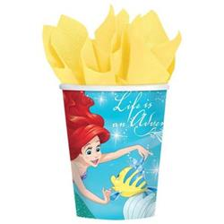 Dream Big Ariel - Little Mermaid Cup Pack of 8 I