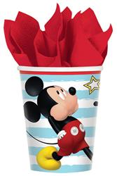 Mickey On The Go Cup 8 per pack