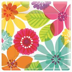 Day In Paradise 25cm Plate Square