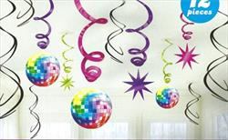 70s Disco Value Pack Swirl Dec