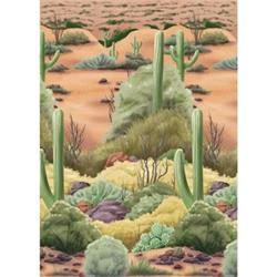 Scene Setter Room Roll Desert Flora 1-4 x 50Ft
