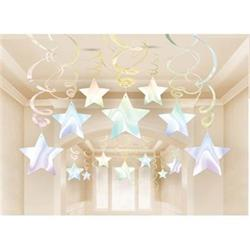 Irridescent Shooting Star Swirl Pk 30