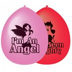 Good Girl Bad Girl Balloons