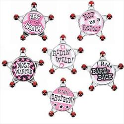 Party Posse hens Night Badge Set