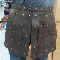 Roman Belt Brown Studded