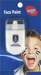 AFL Face Paint Fremantle