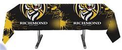 AFL Table Cover Richmond 200 X 100cm