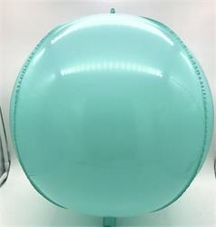 "Plastic Balloon Balls 22"" - 56cm Caribbean Blue self sealing"