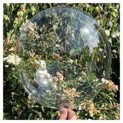 "Bobo balloon Balls Crystal Clear 18"" 45cm"