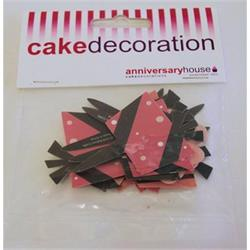 Cake Picks  Fancy Floral Gift Box
