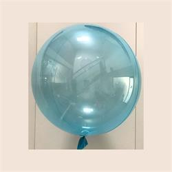 "Clear Sphere 24""-61cm with Soft Blue Tint - Pack 2"