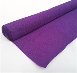 Crepe Paper Purple 50cm x 2.5mtrs