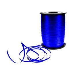 Metallic Ribbon 500yds Blue