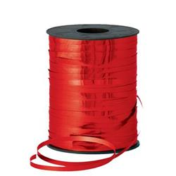 Metallic Ribbon 500yds Red
