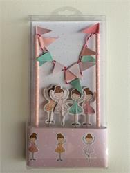 Cake Topper Kit Ballerina