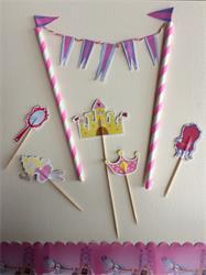 Cake Topper Kit Pink Fairy