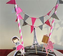 Cake Topper Kit Paris