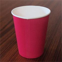 Solid Paper Cups 350ml Hot Pink