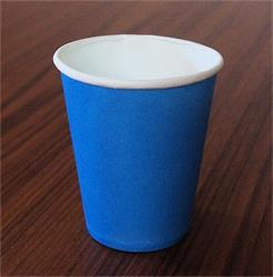 Solid Paper Cups 350m Light Blue