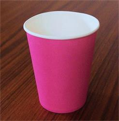 Solid Paper Cups 350m Light Pink