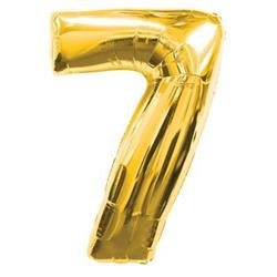 Number 7 Gold 82cm Air fill only