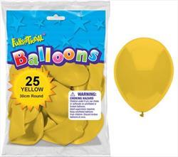 Funsational Yellow 30cm 25cnt