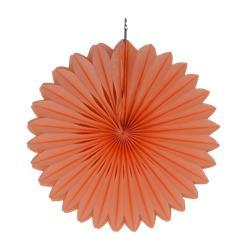 "Paper Fan 12""-30cm Coral"