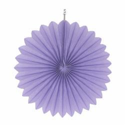 """Paper Fan 12""""-30cm Lavender"""