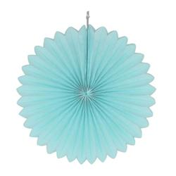 "Paper Fan 12""-30cm Light Blue"