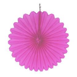 """Paper Fan 12""""-30cm Magenta"""