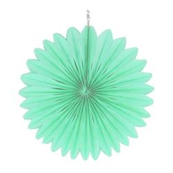 """Paper Fan 12""""-30cm Mint"""