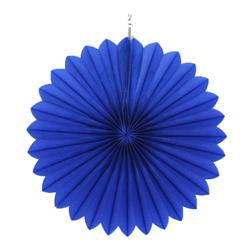 "Paper Fan 12""-30cm Royal Blue"